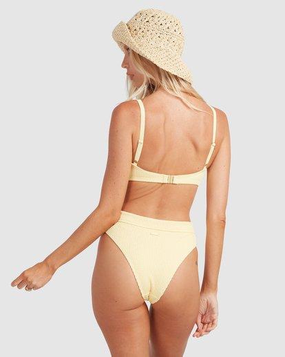 4 Summer High Mia D/DD Bralette Bikini Top Yellow 6513719 Billabong