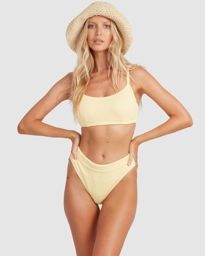 0 Summer High Mia D/DD Bralette Bikini Top Yellow 6513719 Billabong