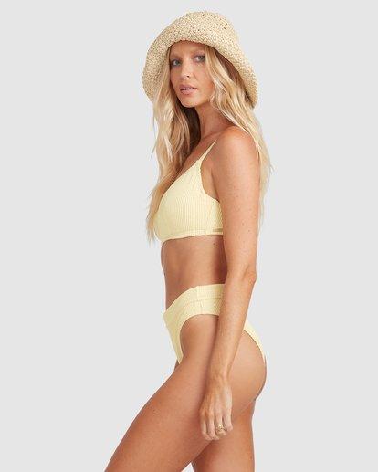 3 Summer High Mia D/DD Bralette Bikini Top Yellow 6513719 Billabong