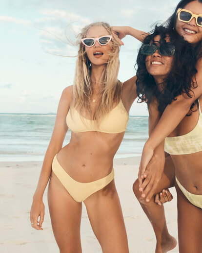 0 Summer High Bondi Bikini Bottoms Yellow 6513721 Billabong