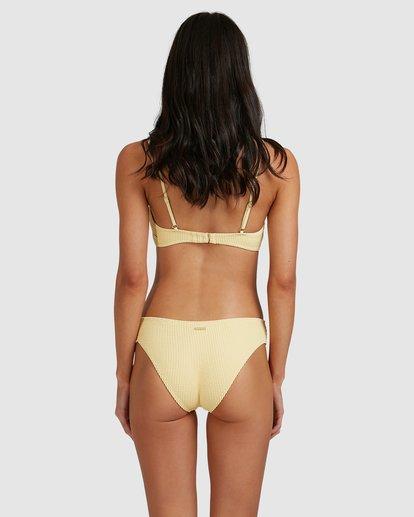 1 Summer High Bondi Bikini Bottoms Yellow 6513721 Billabong