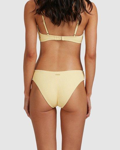 4 Summer High Bondi Bikini Bottoms Yellow 6513721 Billabong
