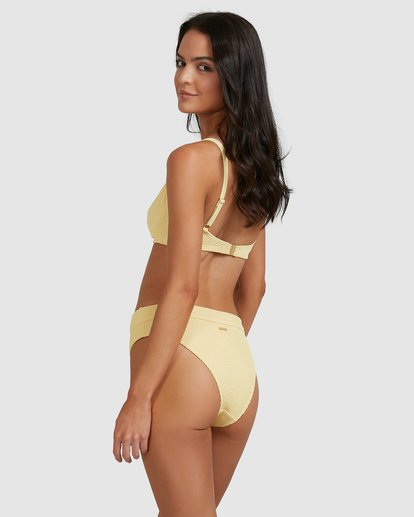 0 Summer High Maui Rider Bikini Bottoms Yellow 6513722 Billabong