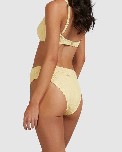 3 Summer High Maui Rider Bikini Bottoms Yellow 6513722 Billabong