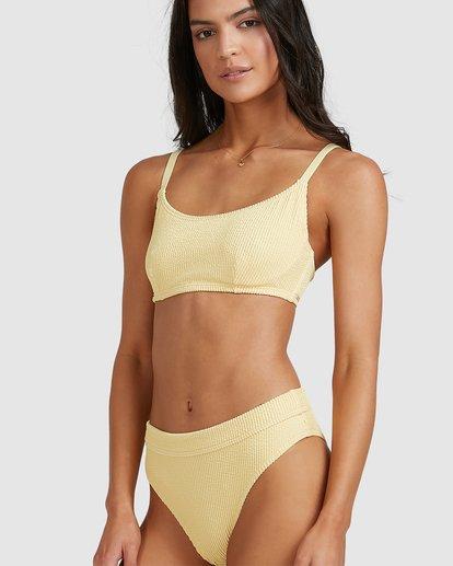 4 Summer High Maui Rider Bikini Bottoms Yellow 6513722 Billabong