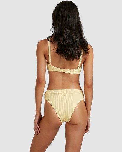 1 Summer High Maui Rider Bikini Bottoms Yellow 6513722 Billabong