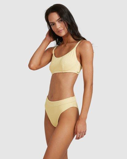 2 Summer High Maui Rider Bikini Bottoms Yellow 6513722 Billabong