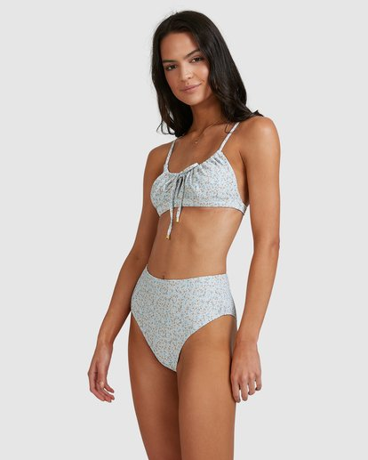 4 Dream Isle Coco Bralette Bikini Top Blue 6513736 Billabong