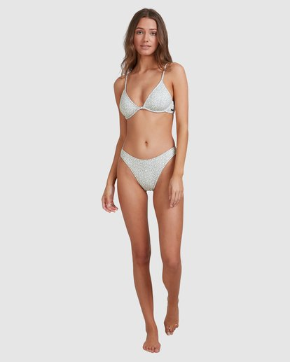 7 Seabloom Reese Underwire Bikini Top Green 6513747 Billabong