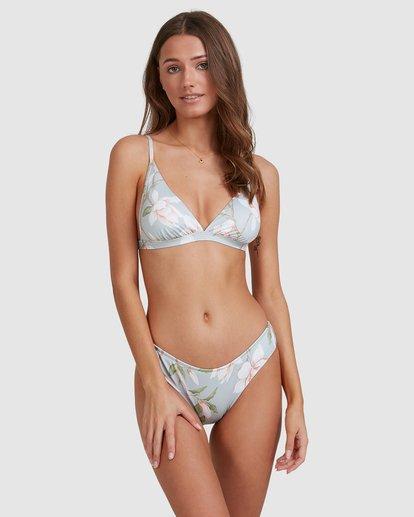 2 Moonflower Hi Point Tri Bikini Top Green 6513753 Billabong