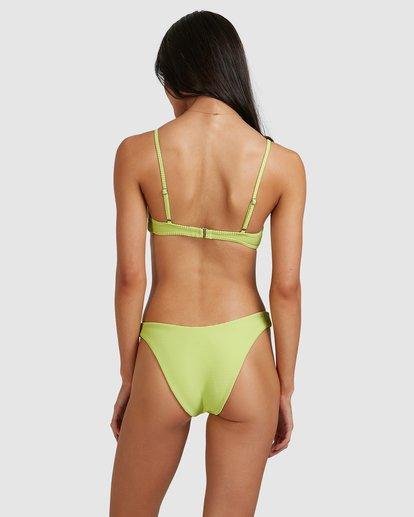 4 Tanlines Charlie Trilette Bikini Top Green 6513762 Billabong