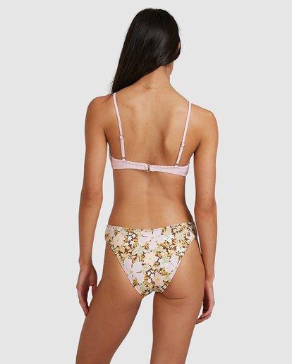 4 Tanlines Charlie Trilette Bikini Top Pink 6513762 Billabong