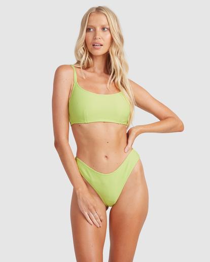 2 Tanlines Mia D/DD Bralette Bikini Top Green 6513763 Billabong