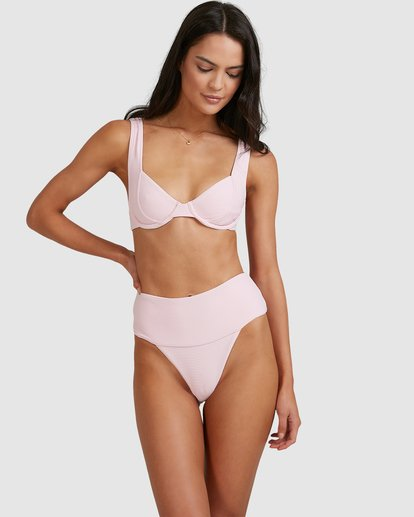 1 Tanlines Chloe Bra Bikini Top Pink 6513764 Billabong