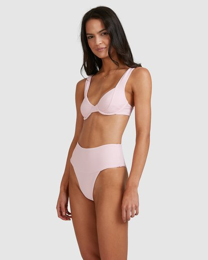4 Tanlines Chloe Bra Bikini Top Pink 6513764 Billabong