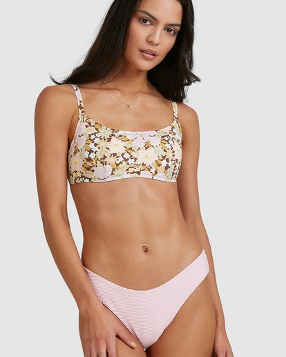 4 Tanlines Bondi Bikini Bottoms Pink 6513767 Billabong