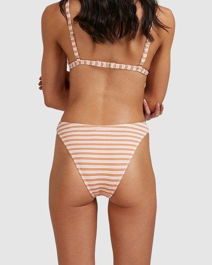 4 Coastline Stripe Havana Bikini Bottoms Yellow 6513770 Billabong