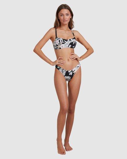 7 Tropicool Vintage D/DD Bralette Bikini Top Black 6513776 Billabong