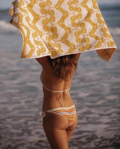 1 Wrangler Setting Sun Tie Side Isla Bikini Bottom Yellow 6513833 Billabong