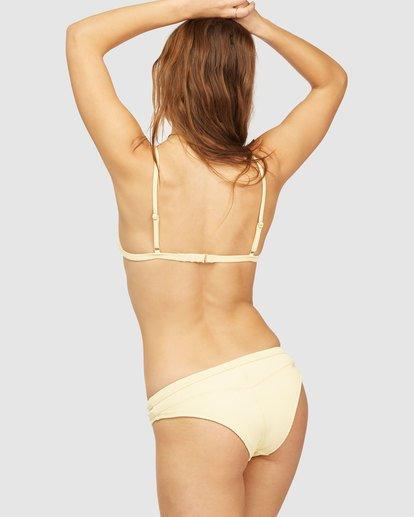 3 Wrangler Face The Sun Ceci Triangle Bikini Top Yellow 6513840 Billabong