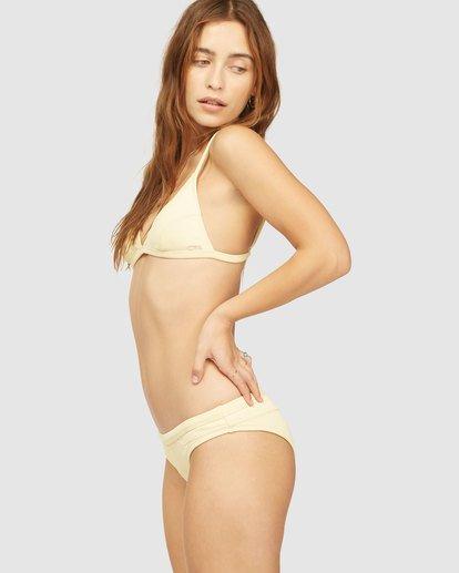 2 Wrangler Face The Sun Ceci Triangle Bikini Top Yellow 6513840 Billabong