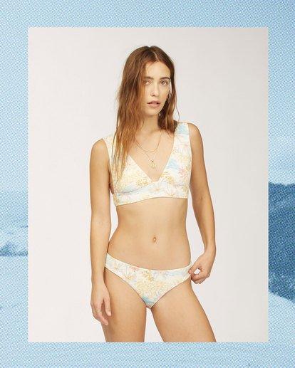 0 Wrangler Western Shore Plunge Bikini Top White 6513844 Billabong