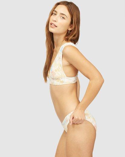 3 Wrangler Western Shore Lowrider Bikini Bottom White 6513847 Billabong