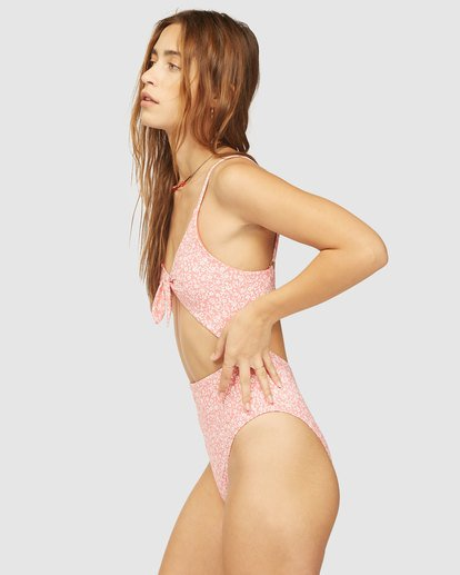3 Wrangler Lil Sweet One One Piece Swimsuit Red 6513852 Billabong
