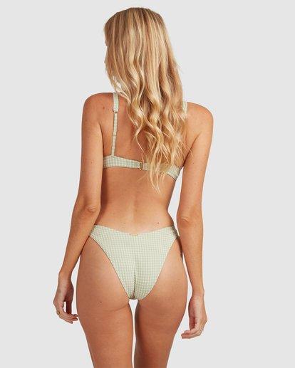 1 Surf Check Hike Bikini Bottoms Green 6513887 Billabong