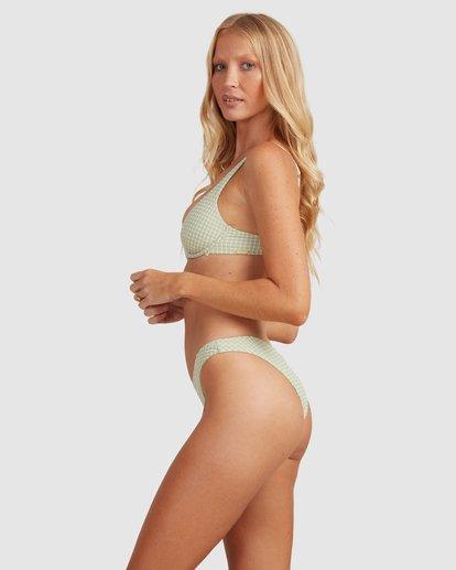 2 Surf Check Hike Bikini Bottoms Green 6513887 Billabong