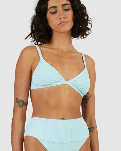 5 Sunrays Ivy Tri Bikini Top Blue 6513904 Billabong
