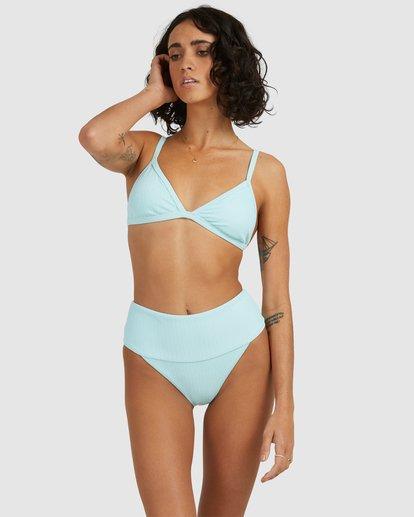 0 Sunrays Ivy Tri Bikini Top Blue 6513904 Billabong