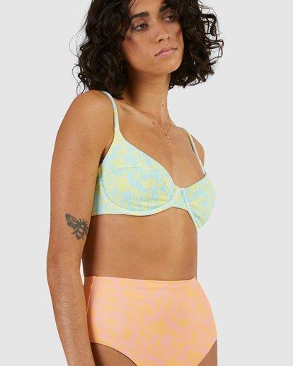 6 Hot Tropics Nova DD Bikini Top Blue 6513908 Billabong
