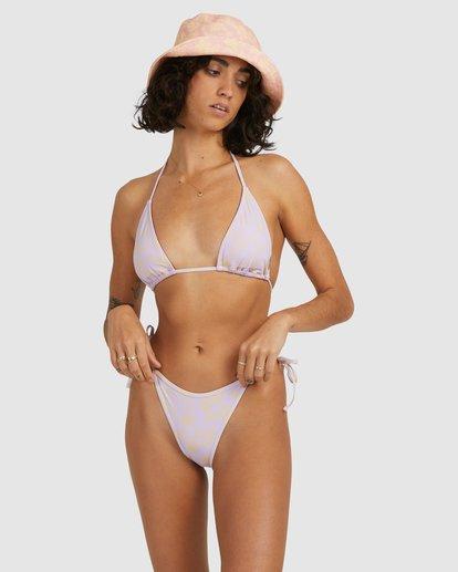 2 Hot Tropics Elongated Tri Bikini Top Purple 6513913 Billabong