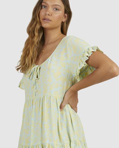 4 Hot Tropics Dress Blue 6513920 Billabong
