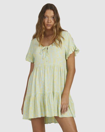 0 Hot Tropics Dress Blue 6513920 Billabong