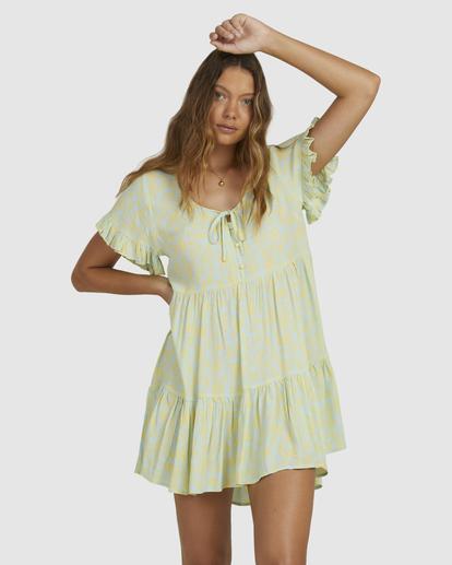 1 Hot Tropics Dress Blue 6513920 Billabong