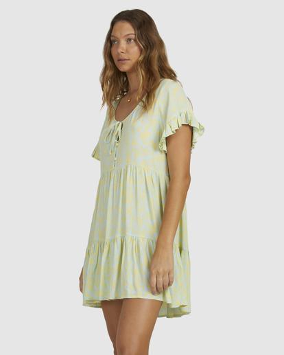 2 Hot Tropics Dress Blue 6513920 Billabong