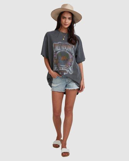 6 Endless Summer Short Sleeve Tee Black 6517004 Billabong