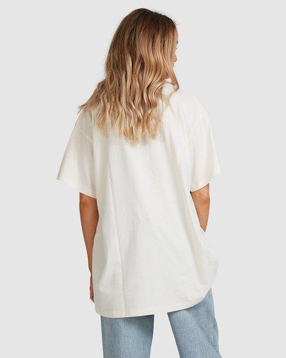 4 Tropics Short Sleeve Tee White 6517005 Billabong