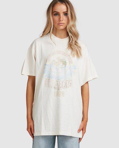 1 Tropics Short Sleeve Tee White 6517005 Billabong