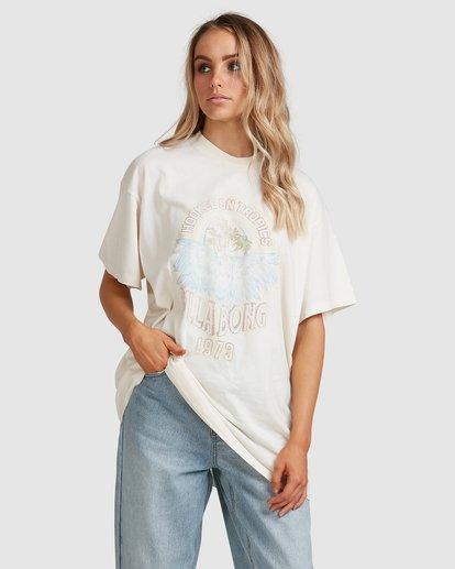 2 Tropics Short Sleeve Tee White 6517005 Billabong