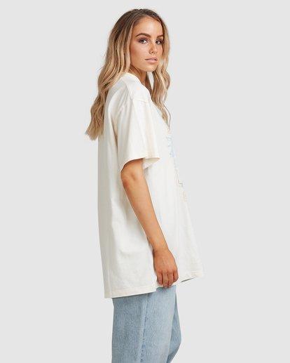 3 Tropics Short Sleeve Tee White 6517005 Billabong