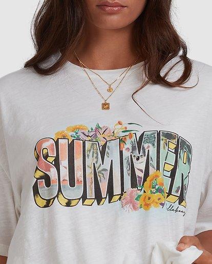 4 Summer Tee White 6517019 Billabong