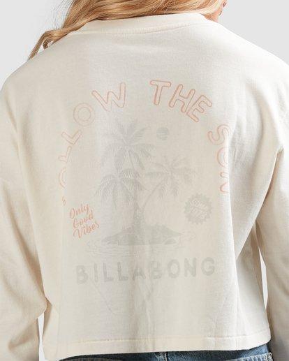 4 Summer 73 Long Sleeve Tee White 6517073 Billabong