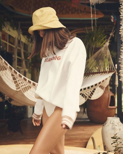 1 Lost Paradise Crew White 6517229 Billabong