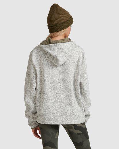 3 Roam Free Hoodie Grey 6517231 Billabong