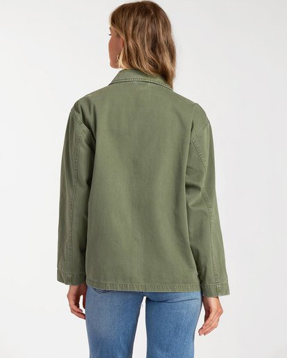 2 Cannon Jacket Green 6517270 Billabong