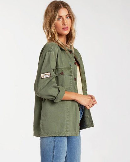 1 Cannon Jacket Green 6517270 Billabong