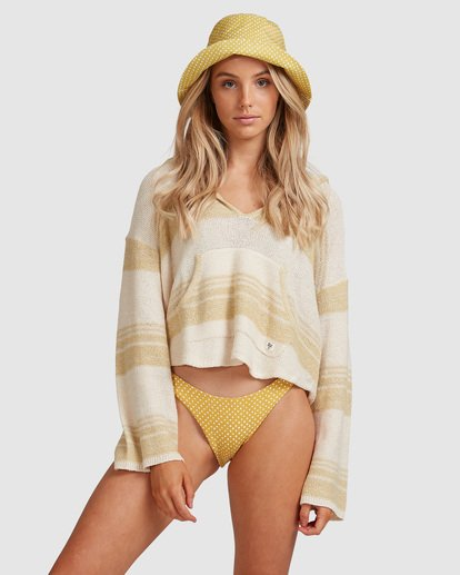 1 Baja Beach Sweater Green 6517291 Billabong